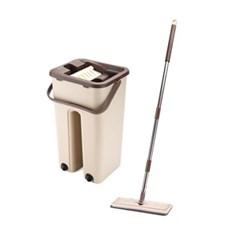파워 슬림클리너 밀대걸레+밀대통 세트 밀대통세트 욕실 청소 바닥