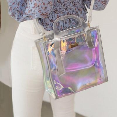 오르비 이오탁 PVC백 크로스백 숄더백 여성가방