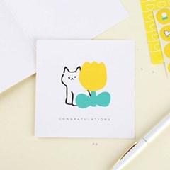 카드 아기고양이 히요