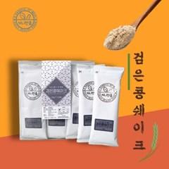 끼니한줌 국내산 검은콩 미숫가루 선식 쉐이크 스틱형 30g 12개입