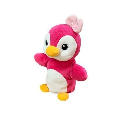 애니프렌즈 핸드퍼펫 펭귄(핑크)