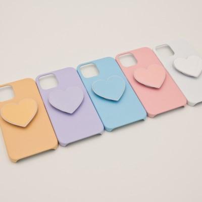 코이트 단색 아이폰 하드 하트 스마트톡 케이스