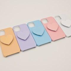 코이트 단색 LG 하드 하트 스마트톡 케이스