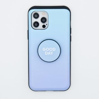 코이트 Good Day 아이폰 범퍼톡 카드슬라이드범퍼 케이스