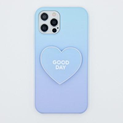 코이트 Good Day 갤럭시S 하드 하트 스마트톡 케이스