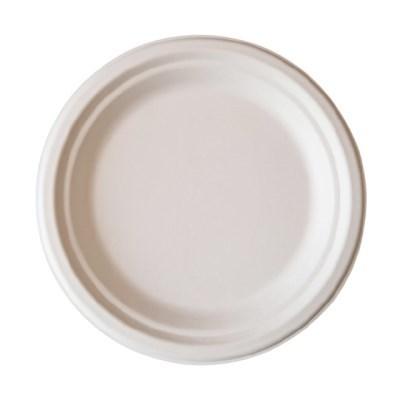 친환경 펄프 원형 접시(특대) 5호 1봉(50개)_(1127883)