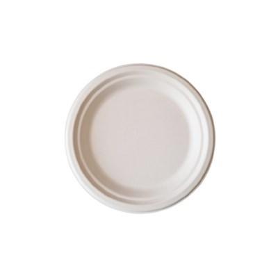 친환경 펄프 원형 접시(소) 4호 1봉(50개)_(1127881)
