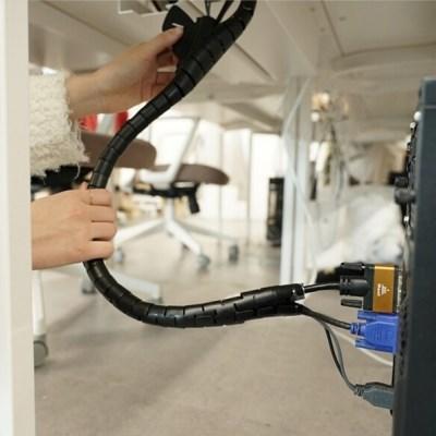 전선정리커버 컴퓨터선 충전기선 전기선 인터넷선정리 커버