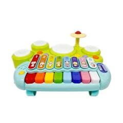 [블루마토] 영어학습 실로폰 드럼 피아노(GWI001)