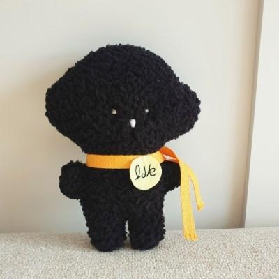 날아라미쎼스깡 DIY 몽몽이 블랙 아기 애착인형 강아지장난감 만들기