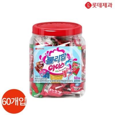 롯데 롤리팝 아이스 660g x 1통 (60개입)