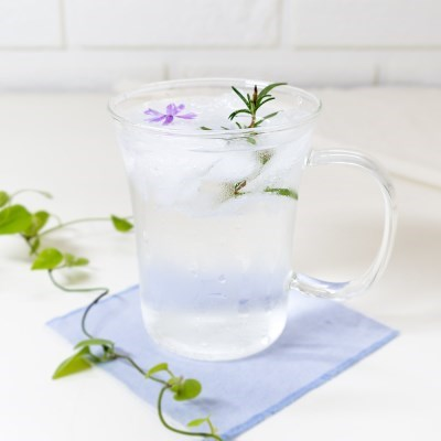 나팔 내열유리머그 잔 컵