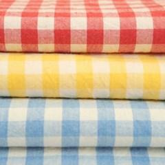 비비드 멜란 체크 식탁보-3color
