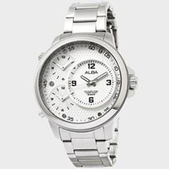 [SEIKOALBA] 세이코알바 AX8005X 남성 메탈 손목시계