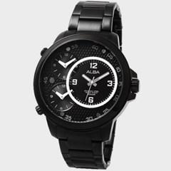 [SEIKOALBA] 세이코알바 AX8001X 남성 메탈 손목시계