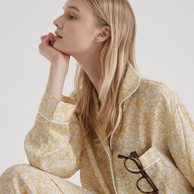 [인견] (w) Chamomile Pajama Set