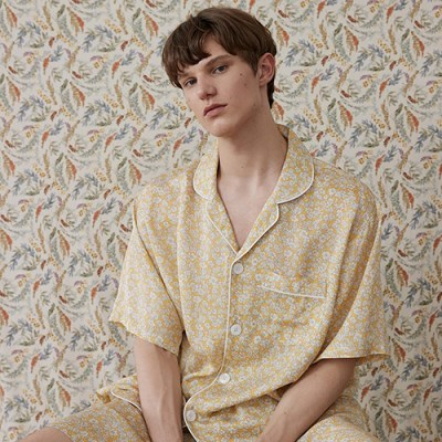 [인견] (m) Chamomile Short Pajama Set