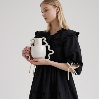 Aurora Negligee Black