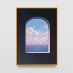일러스트 포스터 / 인테리어 액자_window 01
