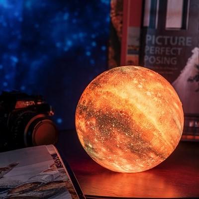 3D입체 16색 우주 행성무드등 갤럭시무드등 달무드등 15cm