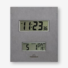 한눈에 모든정보를 확인할 수 있는 디지털 인테리어 벽시계