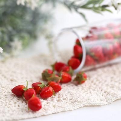 미니 딸기 모형 20P (2cm)