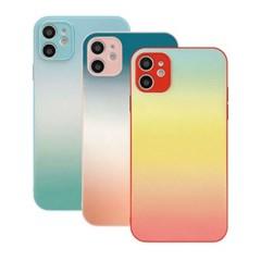 아이폰8 파스텔 페인팅 컬러풀 커버 하드 케이스 P595_(3912286)