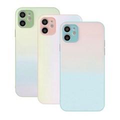 아이폰SE2 파스텔 페인팅 컬러풀 하드 케이스 P595_(3912280)