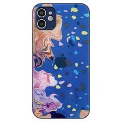 아이폰11 파스텔 페인팅 컬러풀 하드 케이스 P595_(3912279)