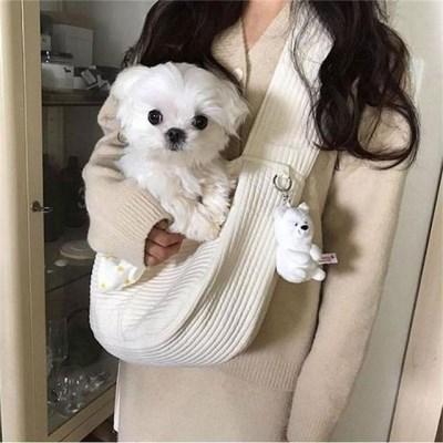 강아지 고양이 슬링백 포대기 애견가방