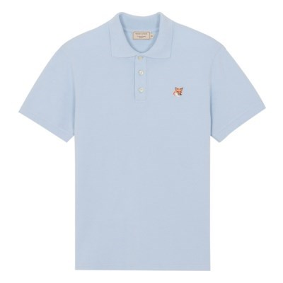메종키츠네 폭스 헤드 패치 클래식 폴로 티셔츠