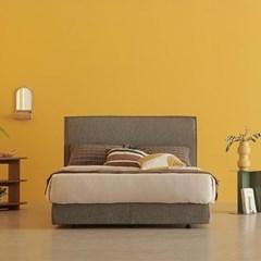 한샘 멜로우 Q 퀸 침대+풀커버 (색상 4종)+노뜨라텍스탑