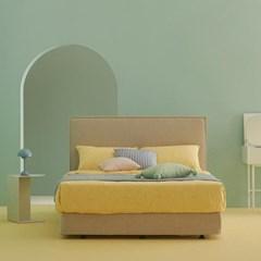 한샘 멜로우 Q 퀸 침대+풀커버 (색상 4종, 매트별도)