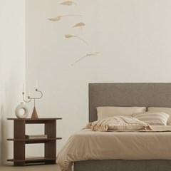 한샘 멜로우 Q 퀸 침대 (매트별도)