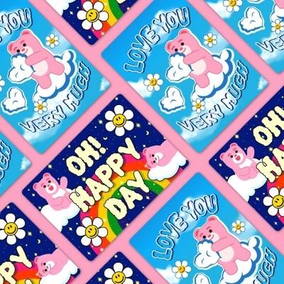 [위글위글] 벨리곰 렌티큘러 카드(S)
