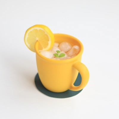 파스텔 실리콘 머그컵 예쁜 아이 물컵