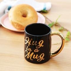 프랑캣 골드 머그컵 블랙앤골드 스타벅스 커피잔 아트머그 라떼잔 컵