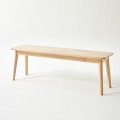 한샘 도노 내추럴 벤치형 의자