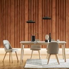 한샘 도노 세라믹 6인 식탁세트(의자4 포함)