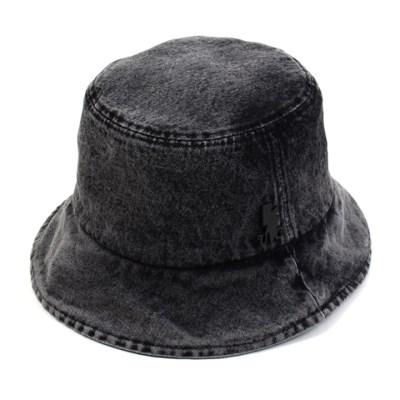 Washing Black Denim Bucket Hat 데님버킷햇
