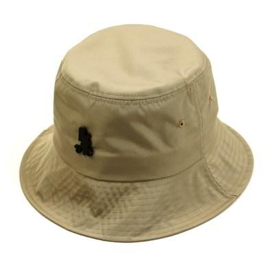 BK Metal Shiny Beige Bucket Hat 버킷햇