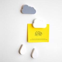 구름비 냉장고 자석 마그넷 홀더 소품