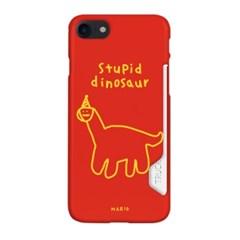 [카드수납케이스 바보공룡]아이폰xs 아이폰xr 아이폰11프로  a32케이