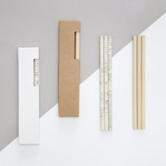 eco paper pencil
