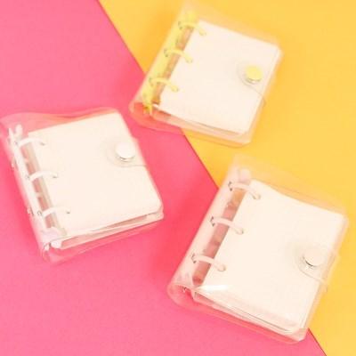 미니 3공 포카 다이어리 바인더 3color 포토카드 속지포함 앨범 보관