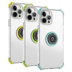 아이폰11프로 마그네틱 클리어 범퍼 젤리 케이스 P593_(3923335)