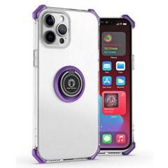 아이폰12미니 마그네틱 클리어 범퍼 젤리 케이스 P593_(3923333)