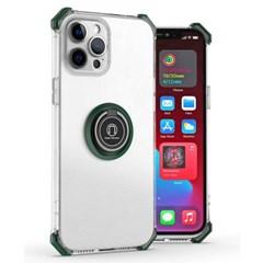 아이폰12 마그네틱 클리어 범퍼 젤리 케이스 P593_(3923332)