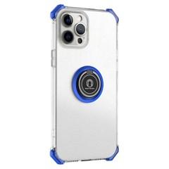 아이폰7 마그네틱 클리어 범퍼 커버 젤리 케이스 P593_(3923337)
