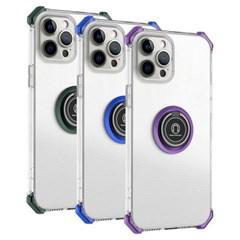 아이폰11 마그네틱 클리어 범퍼 젤리 케이스 P593_(3923336)